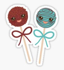 2 Yummy cakepops Sticker