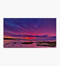 """Torquay Morning Twilight"" Photographic Print"