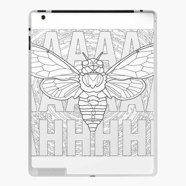 Screaming Cicada iPad Skin