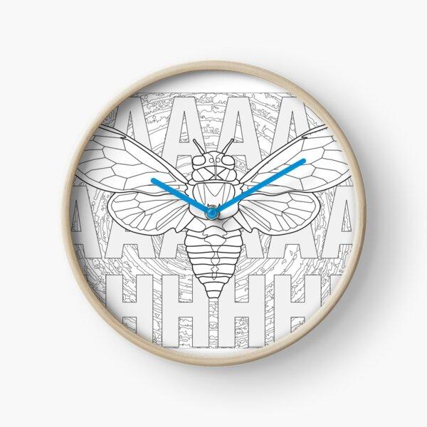 Screaming Cicada Clock