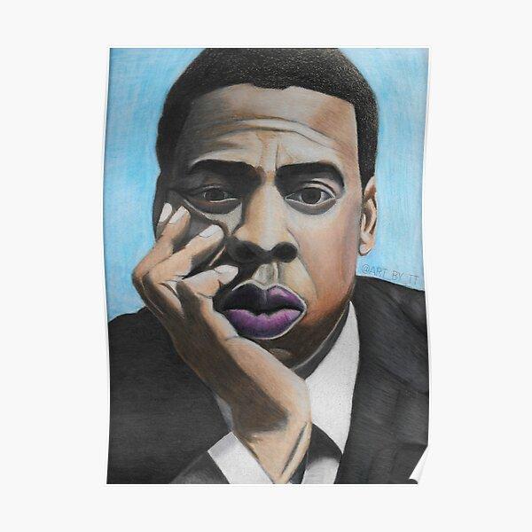 Jay Z Blue Poster