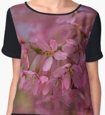 Spring Blossoms Women's Chiffon Top