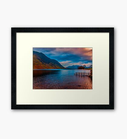 Buttermere Lake District Framed Print