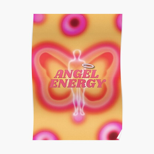 angel energy <3 .. (mydigitaldiaryy pinterest) Poster