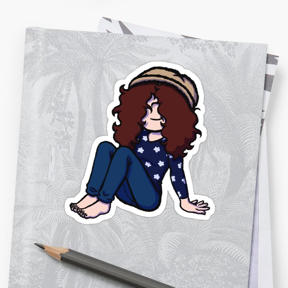 Kati Sticker by noximillien
