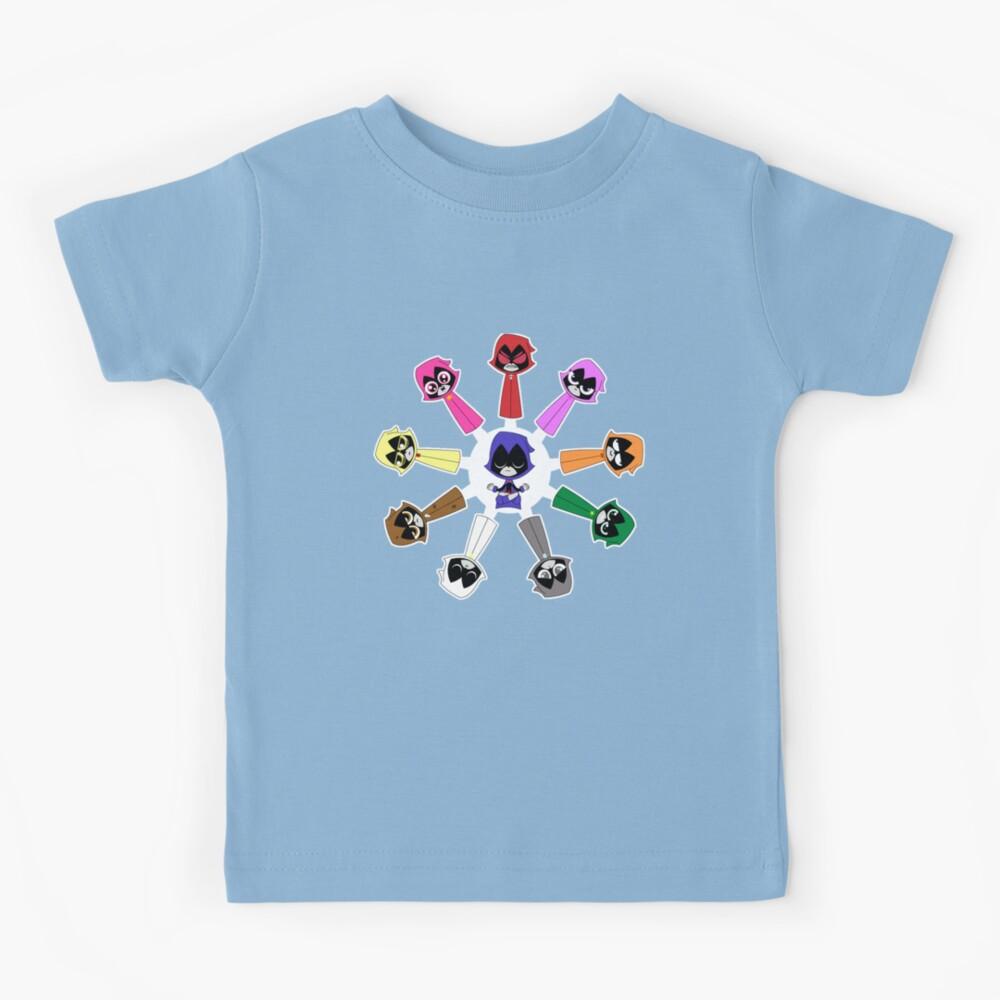 Raven's Emoticlones Kids T-Shirt