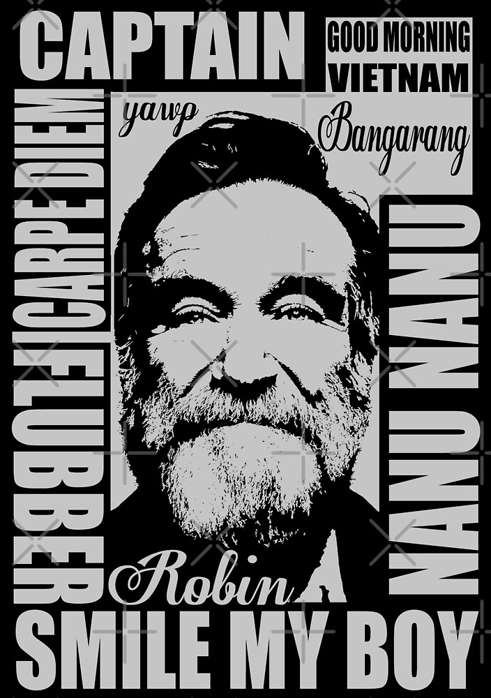 Robin williams tribute  by kurticide