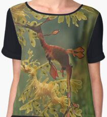 Sea Dragons Chiffon Top