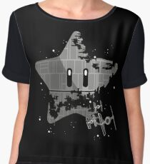 Super Death Star Chiffon Top