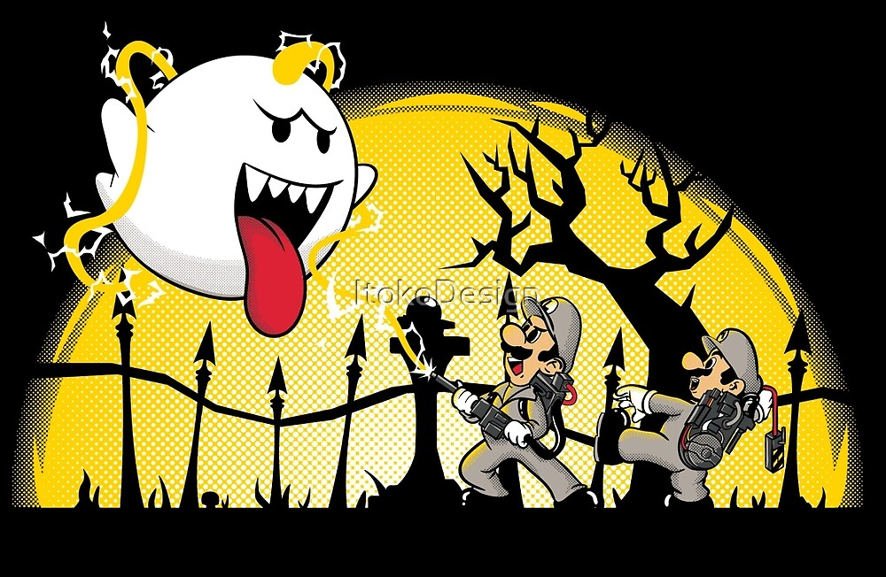 Ghostbusters Bros by ItokoDesign