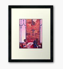 Thy Neighbor Framed Print