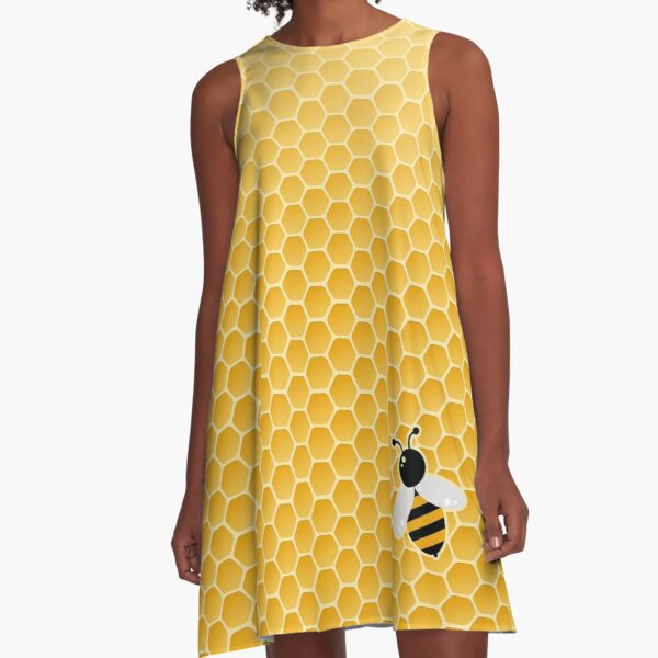 Biene-autiful A-Linien Kleid