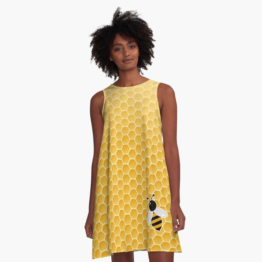 Bee-autiful A-Line Dress