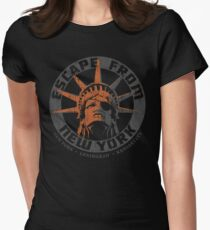 Escape from New York Snake Plissken Women's Fitted T-Shirt