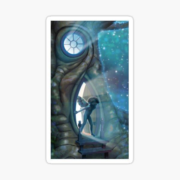 Fairy Door v4 Sticker