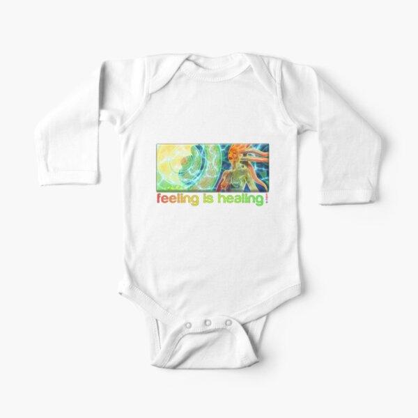 feeling is healing! (ureka.org) Long Sleeve Baby One-Piece