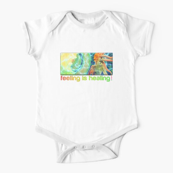 feeling is healing! (ureka.org) Short Sleeve Baby One-Piece