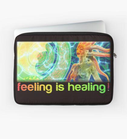 feeling is healing! (ureka.org) Laptop Sleeve