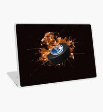 Edmonton Oilers puck Laptop Skin