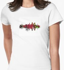San Francisco City Skyline Women's Fitted T-Shirt