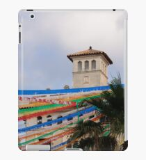 Fiesta in Mahon capital city, Menorca, Balearic islands, Spain iPad Case/Skin