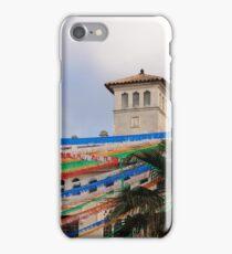 Fiesta in Mahon capital city, Menorca, Balearic islands, Spain iPhone Case/Skin