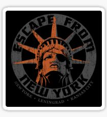 Escape from New York Snake Plissken Sticker