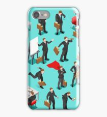 Businessman Leader Isometric iPhone Case/Skin
