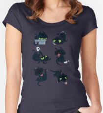 I'm a dragon person Women's Fitted Scoop T-Shirt