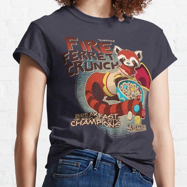 Fire Ferret Crunch Classic T-Shirt