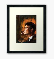 Tommy Shelby Framed Print