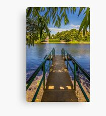 Missed the ferry Canvas Print