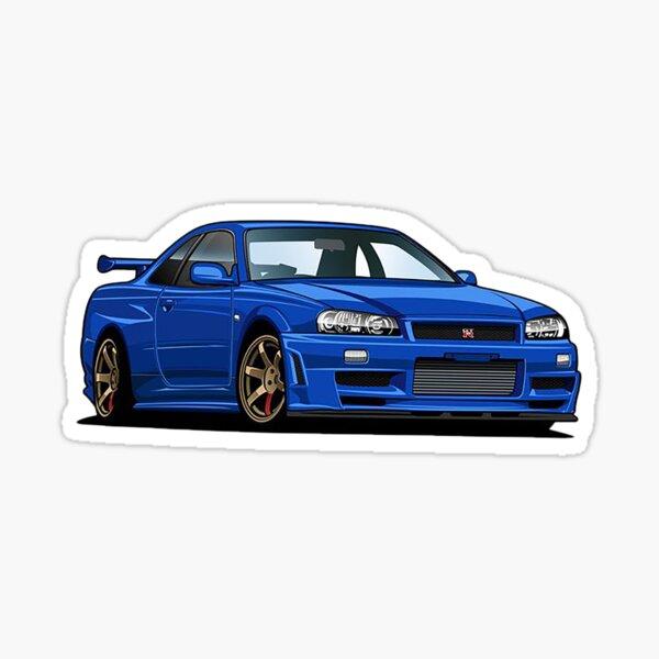 Nissan Skyline R34 GT-R Sticker