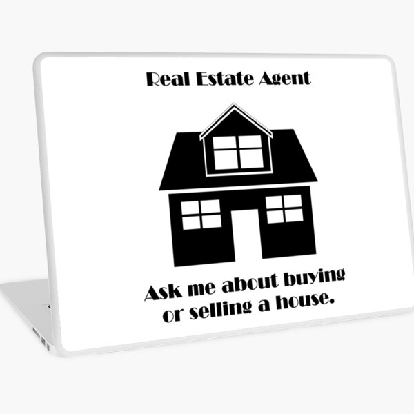 Real Estate Agent Laptop Skin
