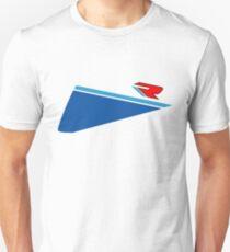Speed R (blue/white) Unisex T-Shirt