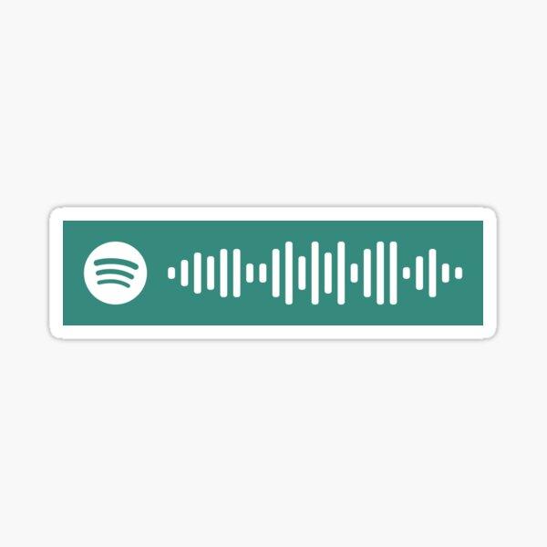 ENHYPEN Fever Código de Spotify Pegatina