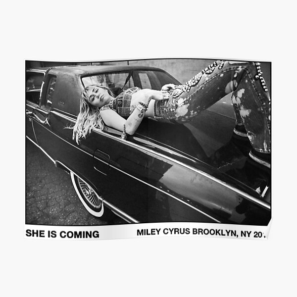 Miley Poster