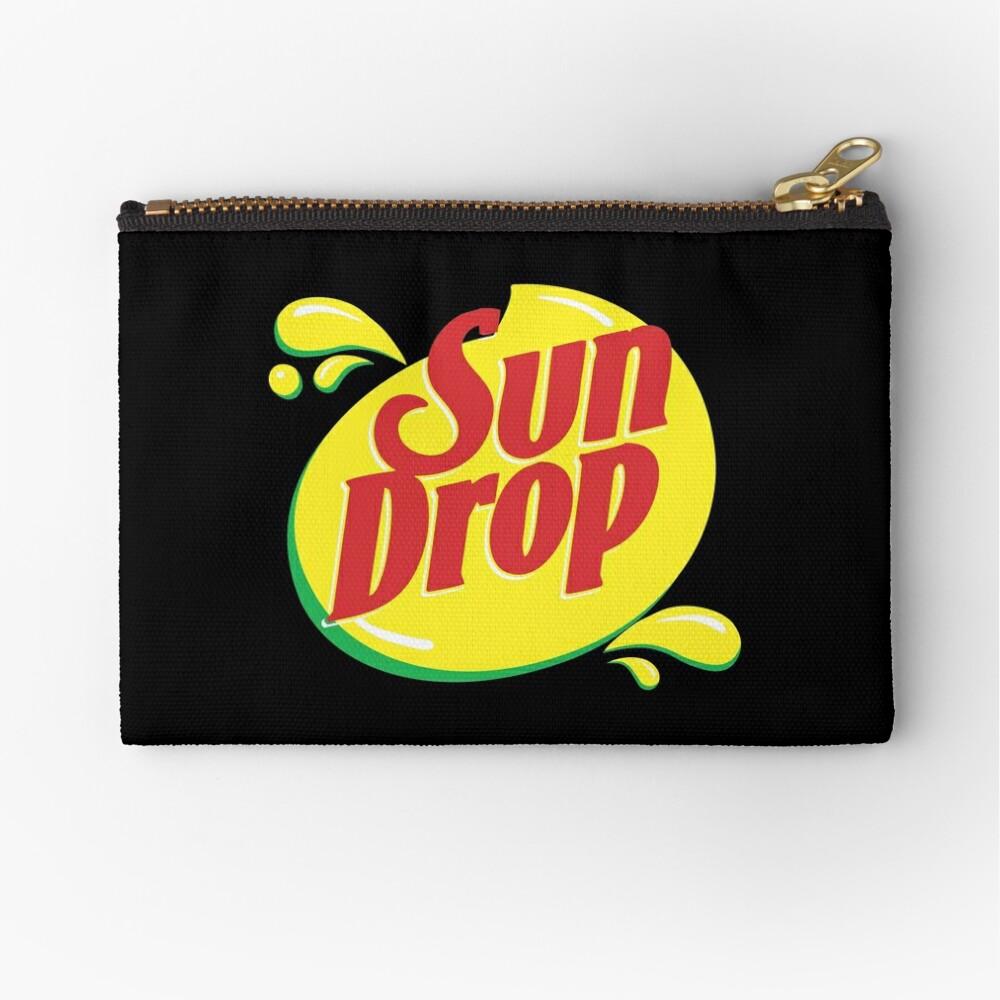 Sun Drop Zipper Pouch