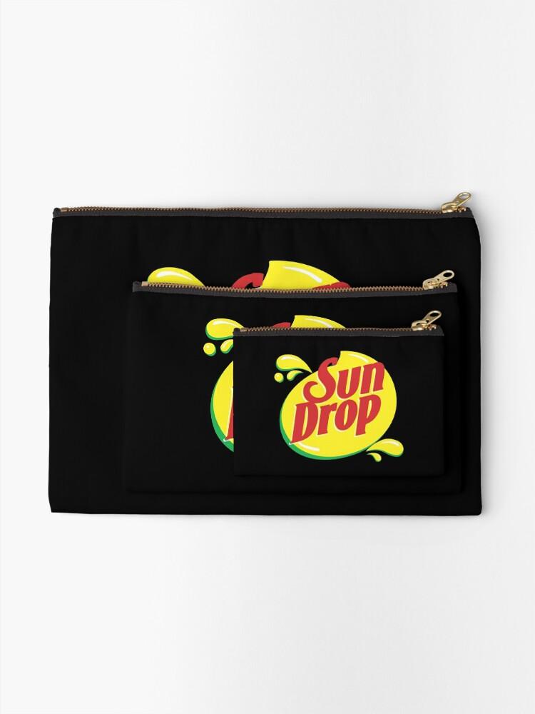 Alternate view of Sun Drop Zipper Pouch