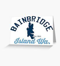 Bainbridge Island. Greeting Card