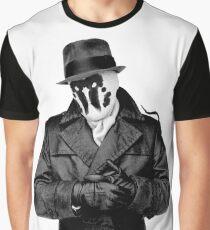 watchmen Rorschach Graphic T-Shirt