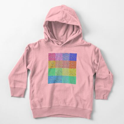 Deep Dreaming of a Color World Toddler Pullover Hoodie