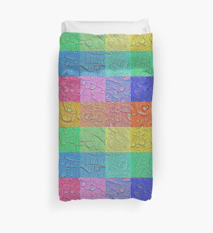 Deep Dreaming of a Color World Duvet Cover