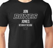 Jon 'Bones' Jones | White Unisex T-Shirt