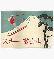 Skiberg Fuji Poster