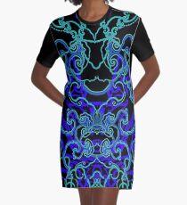 Midnight Zephyr 2 Graphic T-Shirt Dress