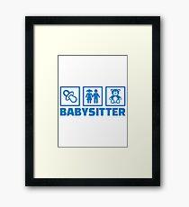 Babysitter Framed Print