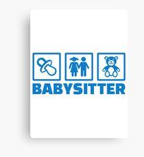 Babysitter Canvas Print