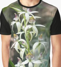 Small Orchids Graphic T-Shirt