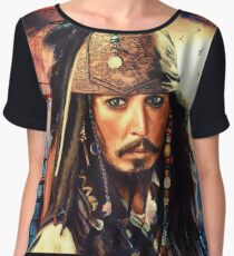 He's A Pirate Chiffon Top